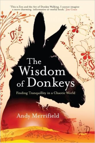 """cover from the book """"the wisdom of donkeys"""""""