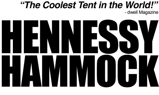 hennessy hammock - the coolest tent in the world