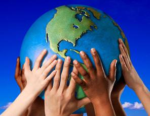Die Welt liegt in unseren Händen - machen wir das beste daraus!